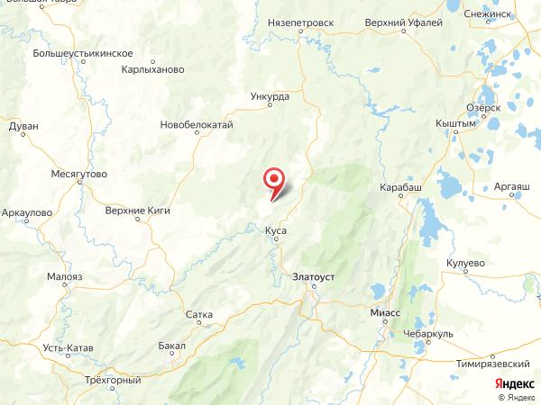 деревня Каскиново на карте