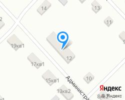 Схема местоположения почтового отделения 457442