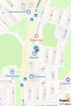 МАГАЗИН ВОСТОРГ (ВИННЫЙ ОТДЕЛ) на карте Качканара