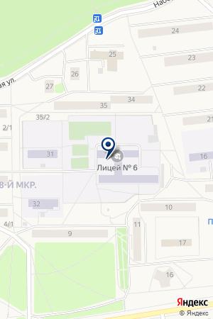ДЕТСКИЙ САД ЧЕБУРАШКА на карте Качканара