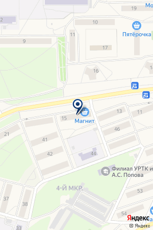 ФИРМА АТЛАНТ на карте Качканара