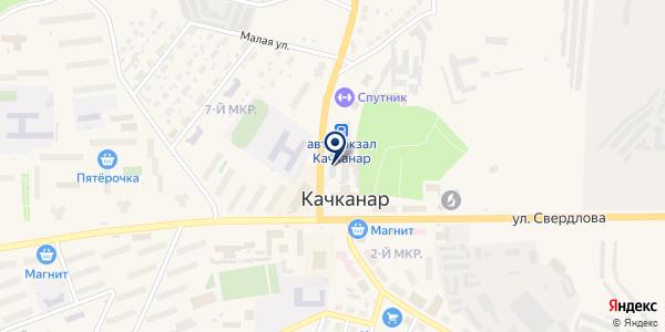 КАФЕ-БАР КОФЕИН на карте Качканаре