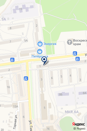 САЛОН ОБУВИ SVM (ЭС ВЭ ЭМ) на карте Качканара