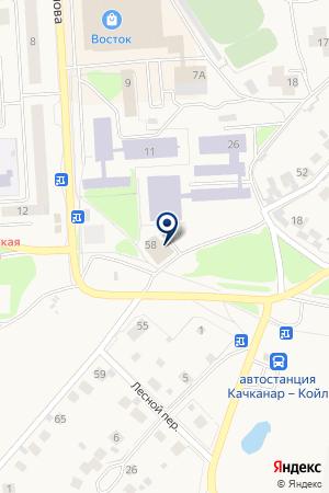 МАГАЗИН АБСОЛЮТ (ВИННЫЙ ОТДЕЛ) на карте Качканара