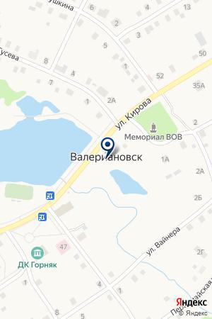 БАНЯ на карте Качканара