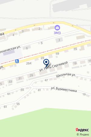 ДЕТСКИЙ САД N 6 на карте Златоуста