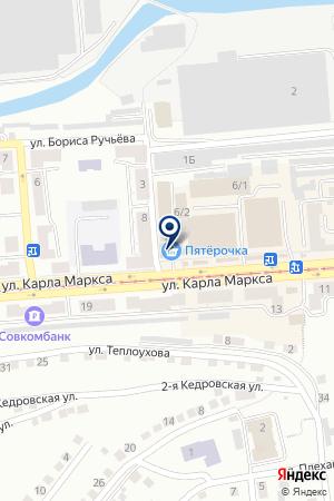 ЗЛАТОУСТОВСКАЯ ХИМЧИСТКА на карте Златоуста