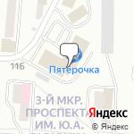Магазин салютов Златоуст- расположение пункта самовывоза