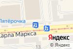 Схема проезда до компании Магазин в Златоусте