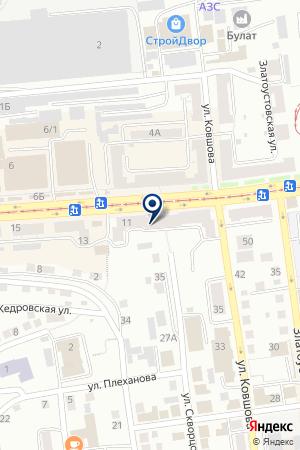 БАНКОМАТ RAIFFEISENBANK (РАЙФФАЙЗЕНБАНК) на карте Златоуста