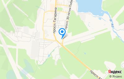 Местоположение на карте пункта техосмотра по адресу Челябинская обл, г Златоуст, пр-кт им Ю.А.Гагарина 8-я линия, д 20