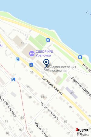 БАНКОМАТ УРАЛСИБ на карте Златоуста