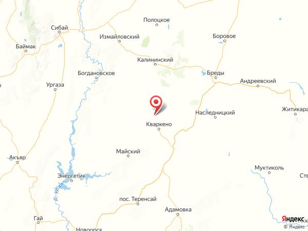 поселок Лесная Поляна на карте