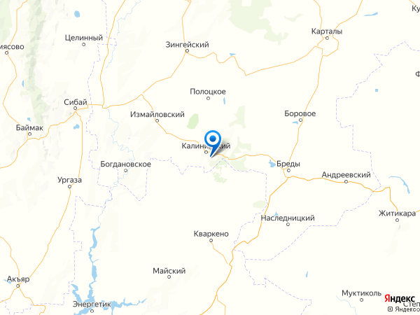 хутор Родники на карте