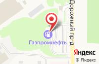 Схема проезда до компании АЗС N 58 СИБНЕФТЬ в Лесном