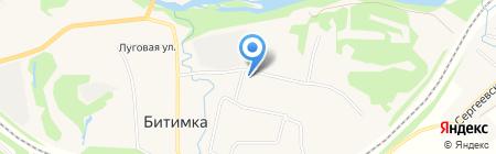 Банкомат Уральский банк Сбербанка России на карте Битимки