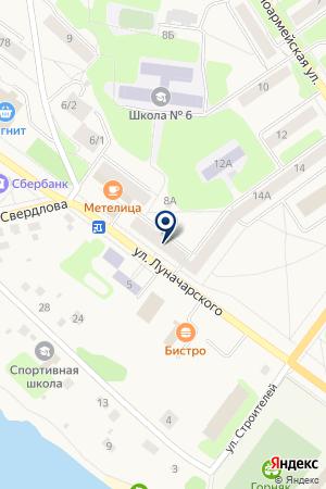 ДЕТСКИЙ САД N 25 ПГТ.БАРАНЧИНСКИЙ на карте Кушвы