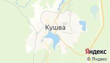 Гостиницы города Кушва на карте
