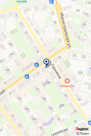 МАГАЗИН ГЛОРИЯ на карте Кушвы