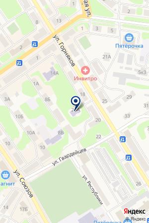 ДОМ ДЕТСКОГО ТВОРЧЕСТВА (ФИЛИАЛ) на карте Кушвы