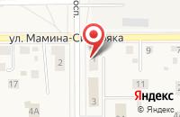 Схема проезда до компании ТАКСИ ФОРСАЖ в Лесном