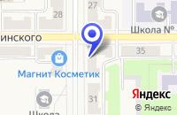 Схема проезда до компании МАГАЗИН КУРИКО в Лесном