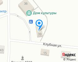 Схема местоположения почтового отделения 624947