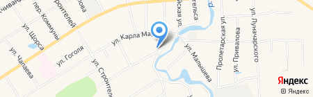 Ветеринарный участок на карте Билимбая