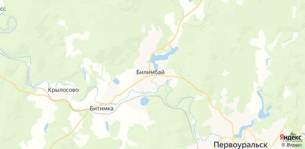 Билимбай на карте