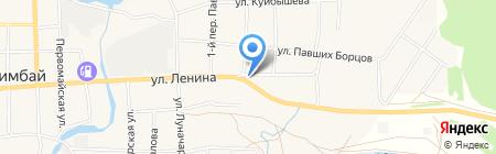Продуктовый магазин на ул. Ленина на карте Билимбая