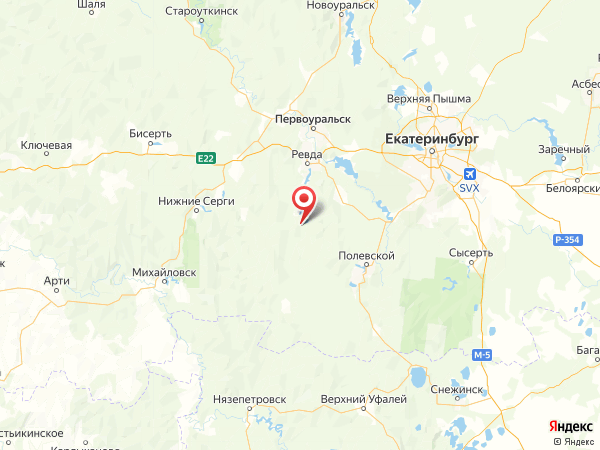 село Мариинск на карте