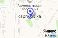 Схема проезда до компании БИБЛИОТЕКА ПОС.КАРПУШИХА (ФИЛИАЛ N 7) в Кировграде