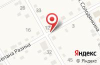 Схема проезда до компании Почтовое отделение в Сыростане