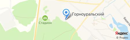 Детский сад №24 на карте Горноуральского
