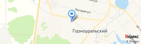 Хозяюшка на карте Горноуральского