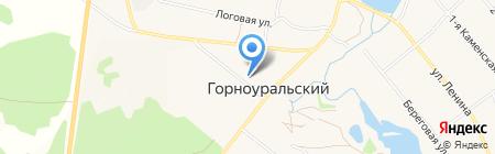 Банкомат Уральский банк Сбербанка России на карте Горноуральского