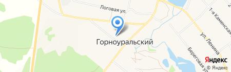 Универмаг на карте Горноуральского