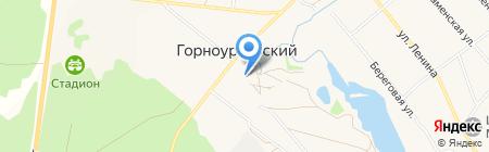 Горноуральский Центр культуры на карте Горноуральского