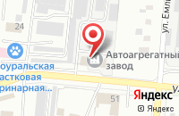 Схема проезда до компании Темир-Текс в Первоуральске