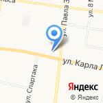 Кировский на карте Ревды