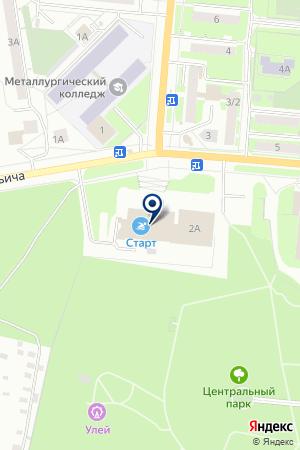КОМПЬЮТЕРНЫЙ СЕРВИСНЫЙ ЦЕНТР FERRUM-STAR (ФЕРРУМ-СТАР) на карте Первоуральска