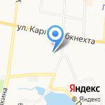 Кировское на карте Ревды