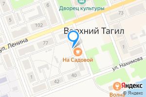 Двухкомнатная квартира в Верхнем Тагиле ул Садовая, 4