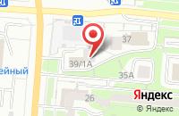 Схема проезда до компании Сигма-В в Первоуральске