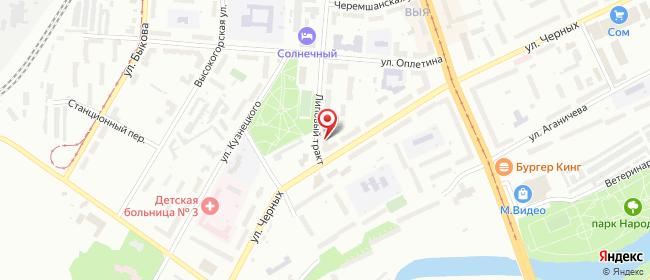 Карта расположения пункта доставки 220 вольт в городе Нижний Тагил