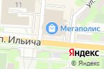 Схема проезда до компании Гаврош в Первоуральске