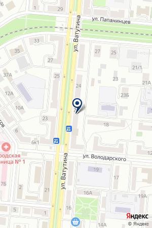 ТОРГОВАЯ КОМПАНИЯ K`A`RCHER (КЕРХЕР) на карте Первоуральска