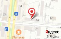 Схема проезда до компании Доступное Жилье в Первоуральске