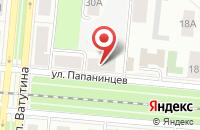 Схема проезда до компании Зеленая Башня в Первоуральске