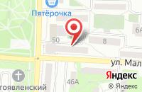 Схема проезда до компании Автокод в Первоуральске